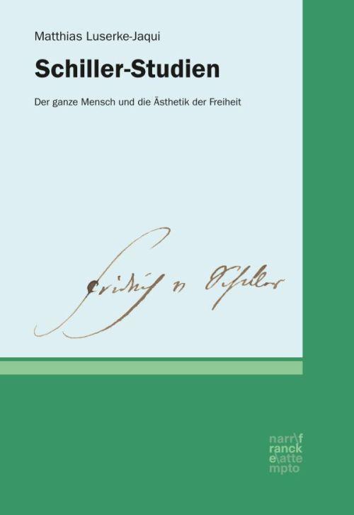 Cover-Bild Schiller-Studien