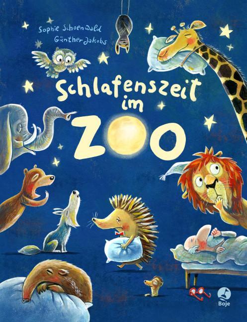 Cover-Bild Schlafenszeit im Zoo