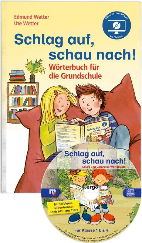 Cover-Bild Schlag auf, schau nach! – Wörterbuch für die Grundschule mit CD-ROM, Neubearbeitung