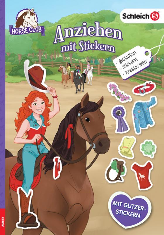 Cover-Bild SCHLEICH® Horse Club – Anziehen mit Stickern