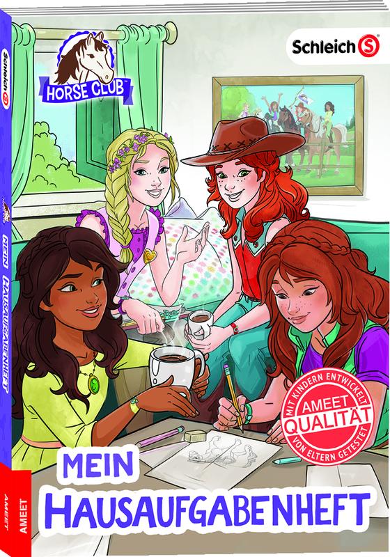 Cover-Bild Schleich Horse Club Mein Hausaufgabenheft