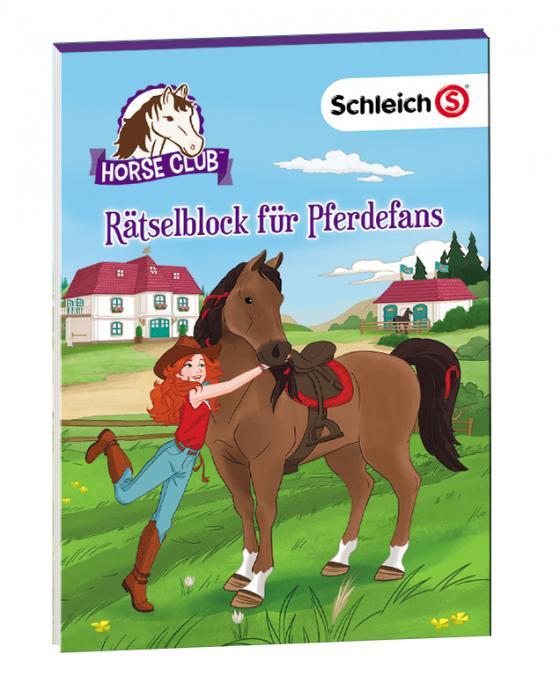 Cover-Bild SCHLEICH® Horse Club – Rätselblock für Pferdefans