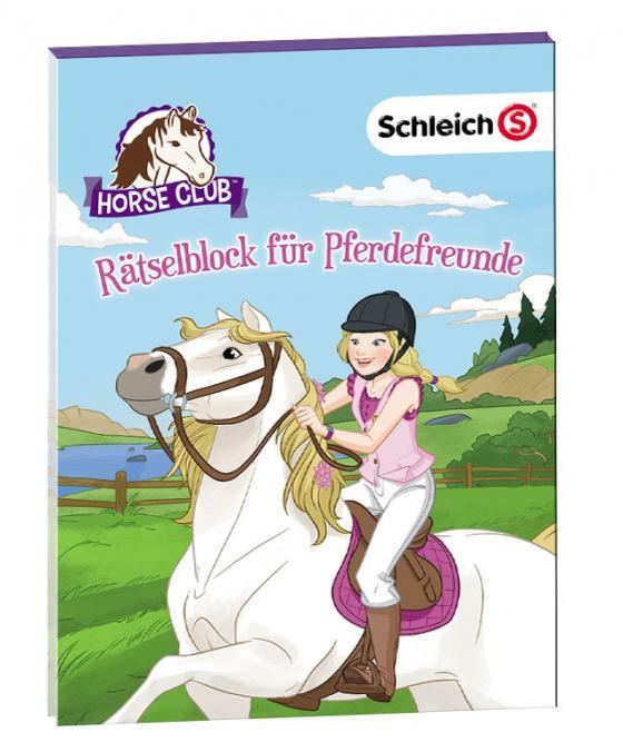 Cover-Bild SCHLEICH® Horse Club – Rätselblock für Pferdefreunde