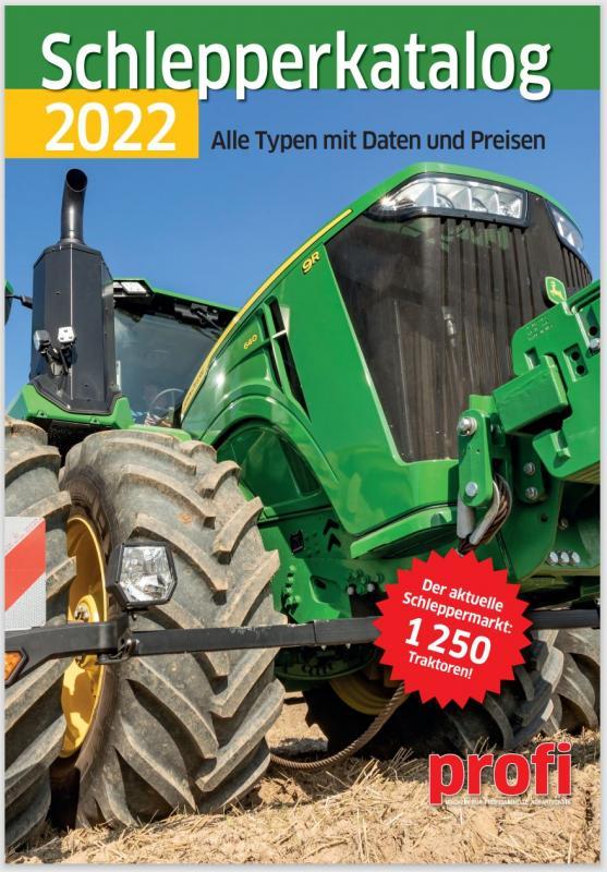 Cover-Bild Schlepperkatalog 2022