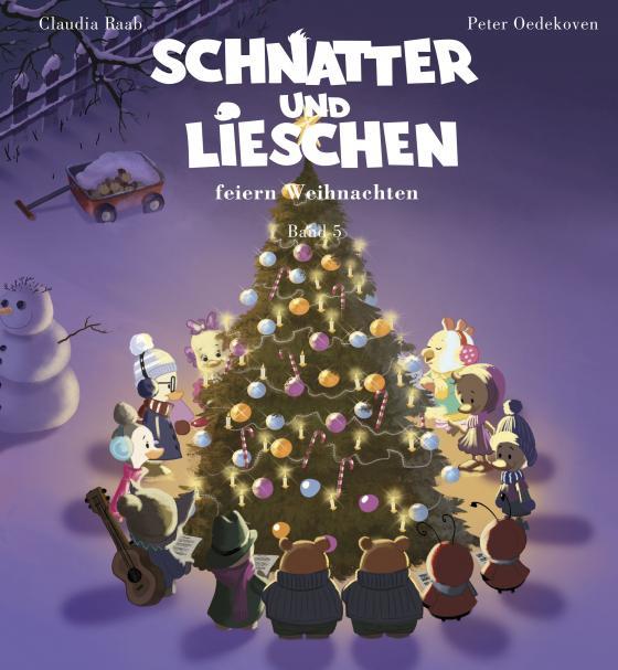 Cover-Bild Schnatter und Lieschen - Schnatter und Lieschen feiern Weihnachten (Inkl. CD)