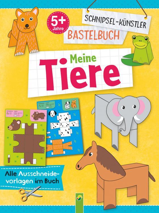 Cover-Bild Schnipsel-Künstler Bastelbuch Meine Tiere