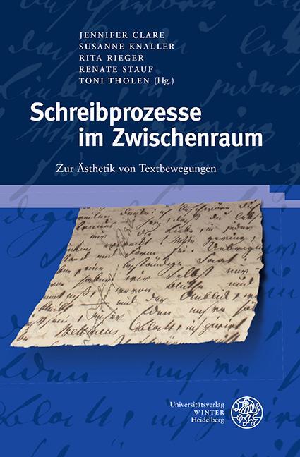 Cover-Bild Schreibprozesse im Zwischenraum