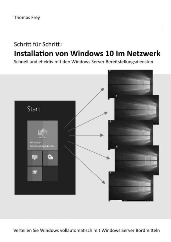 Cover-Bild Schritt für Schritt: Installation von Windows 10 im Netzwerk