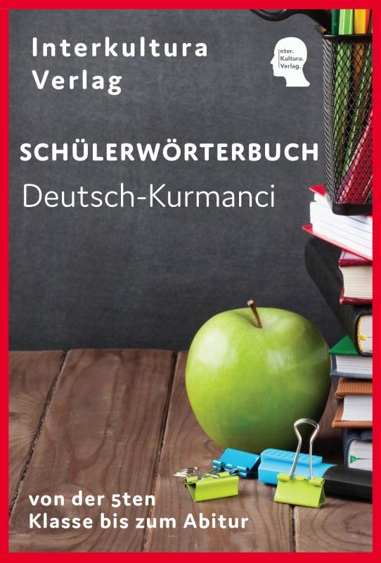 Cover-Bild Schülerwörterbuch Deutsch-Kurmanci