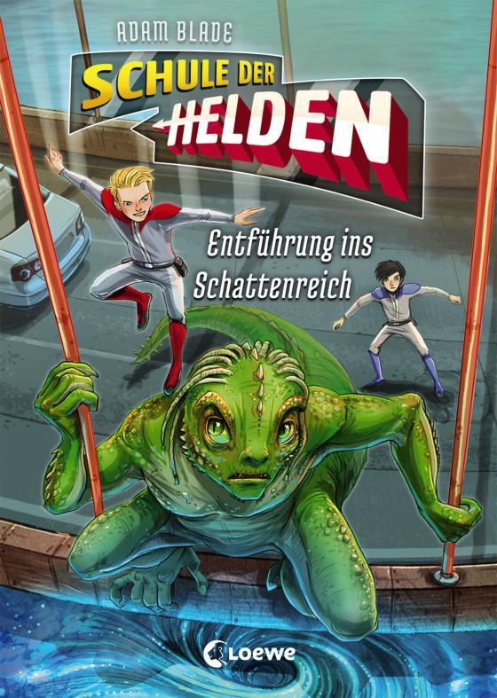 Cover-Bild Schule der Helden - Entführung ins Schattenreich