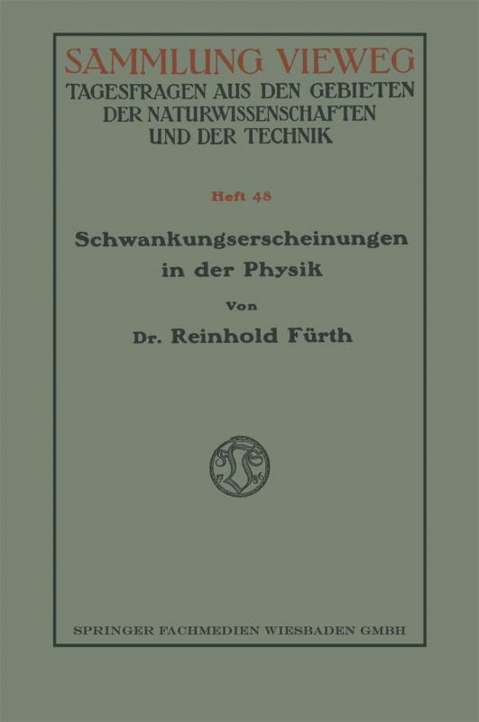 Cover-Bild Schwankungserscheinungen in der Physik