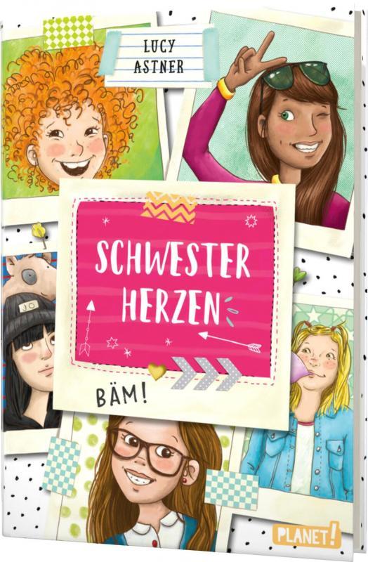 Cover-Bild Schwesterherzen 1: Eine für alle, alle für DICH!