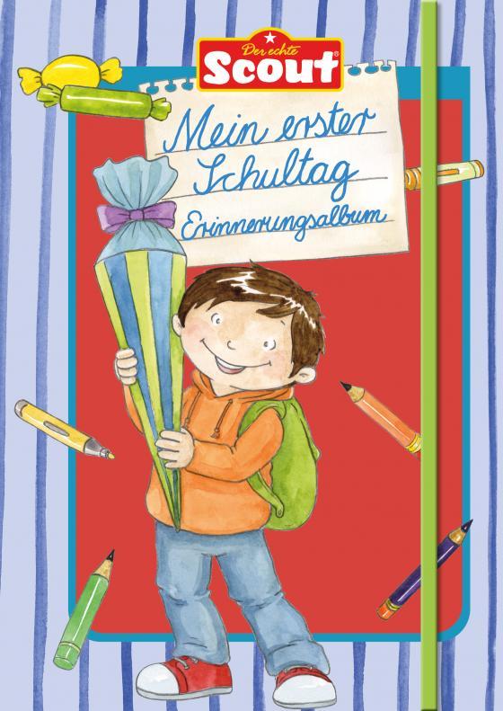 Cover-Bild Scout - Mein erster Schultag Erinnerungsalbum (Jungs)