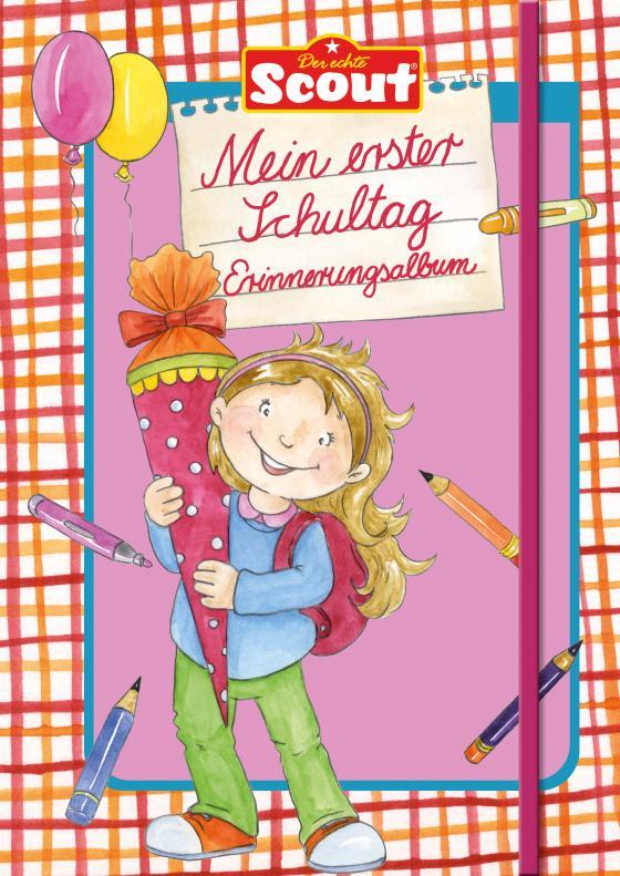 Cover-Bild Scout - Mein erster Schultag Erinnerungsalbum (Mädchen)