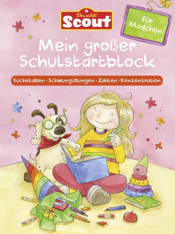 Cover-Bild Scout - Mein großer Schulstartblock für Mädchen