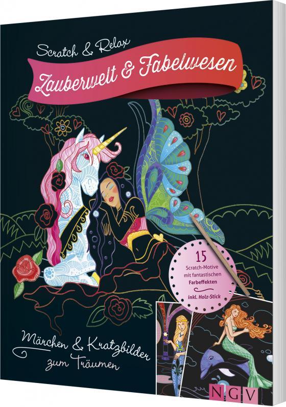 Cover-Bild Scratch & Relax - Zauberwelt & Fabelwesen
