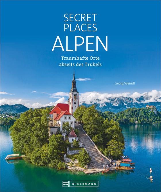 Cover-Bild Secret Places Alpen