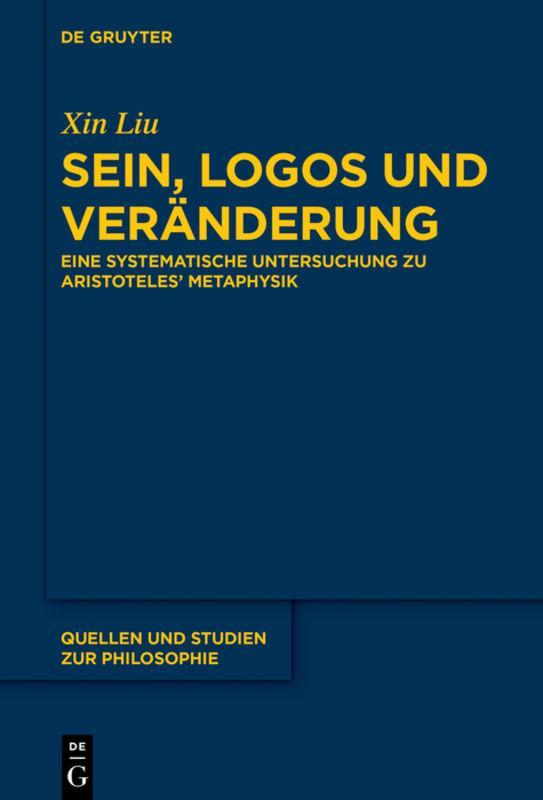 Cover-Bild Sein, Logos und Veränderung