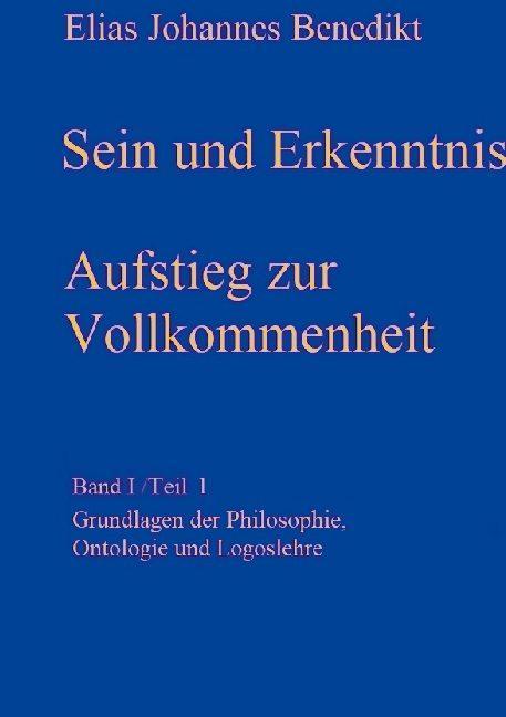 Cover-Bild Sein und Erkenntnis