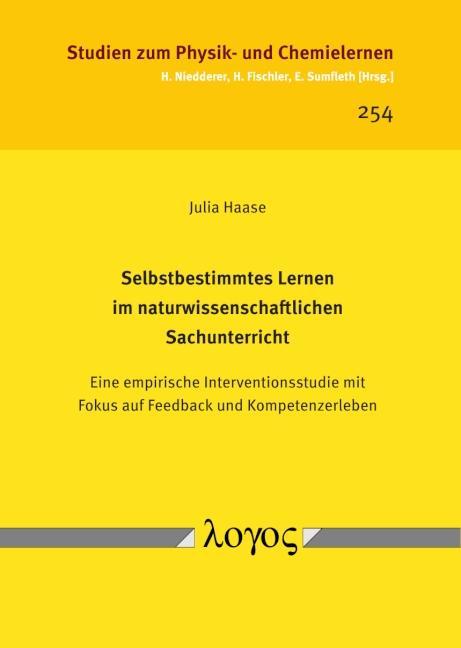 Cover-Bild Selbstbestimmtes Lernen im naturwissenschaftlichen Sachunterricht