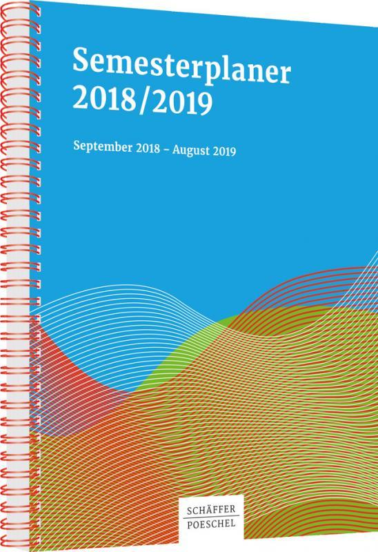 Cover-Bild Semesterplaner 2018/2019