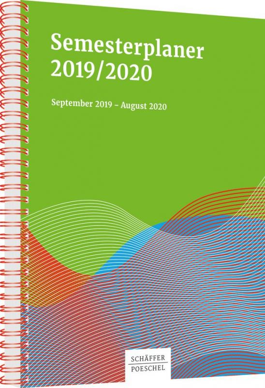 Cover-Bild Semesterplaner 2019/2020