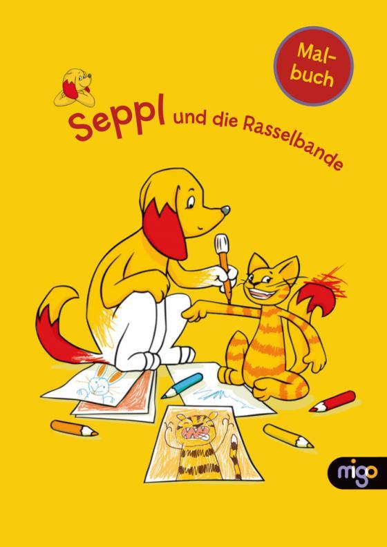 Cover-Bild Seppl und die Rasselbande Malbuch