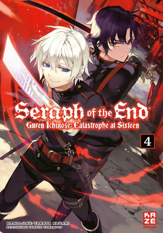 Cover-Bild Seraph of the End - Guren Ichinose Catastrophe at Sixteen 04