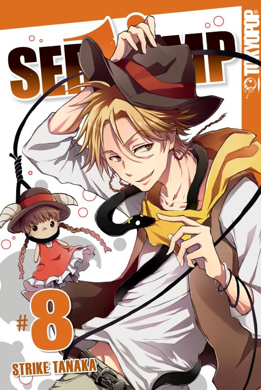 Cover-Bild Servamp - Band 08