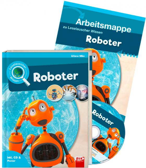 Cover-Bild Set: Leselauscher Wissen: Roboter (inkl. CD)