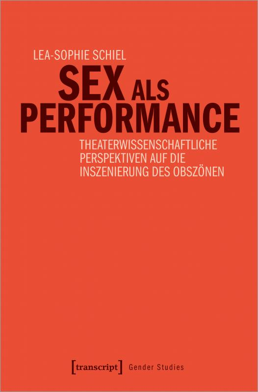 Cover-Bild Sex als Performance