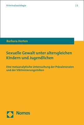 Cover-Bild Sexuelle Gewalt unter altersgleichen Kindern und Jugendlichen