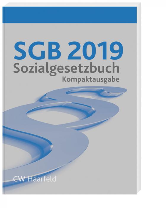 Cover-Bild SGB 2019 Sozialgesetzbuch - Kompaktausgabe
