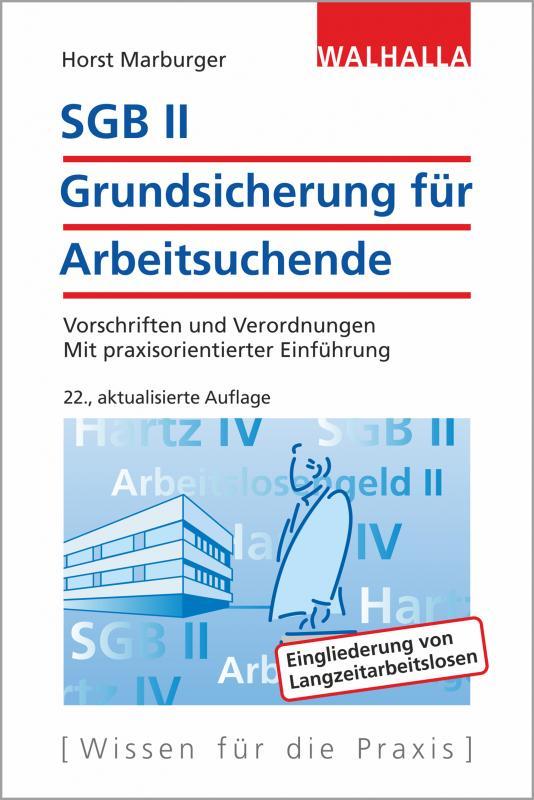 Cover-Bild SGB II - Grundsicherung für Arbeitsuchende