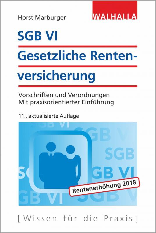 Cover-Bild SGB VI - Gesetzliche Rentenversicherung