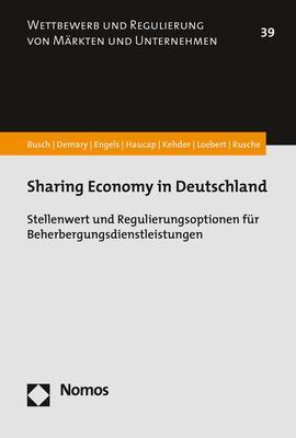 Cover-Bild Sharing Economy in Deutschland