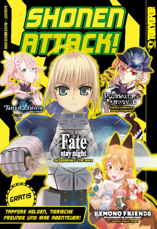 Cover-Bild Shonen Attack Magazin #6