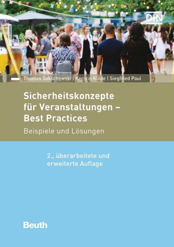 Cover-Bild Sicherheitskonzepte für Veranstaltungen - Best Practices