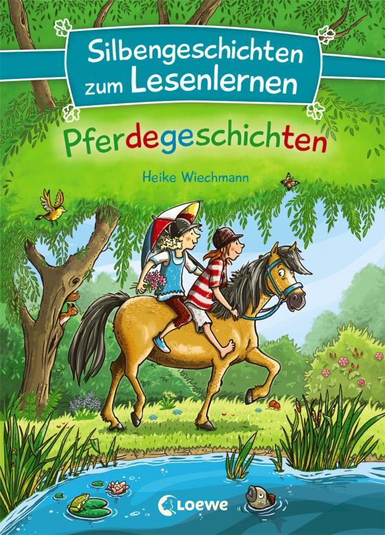 Cover-Bild Silbengeschichten zum Lesenlernen - Pferdegeschichten