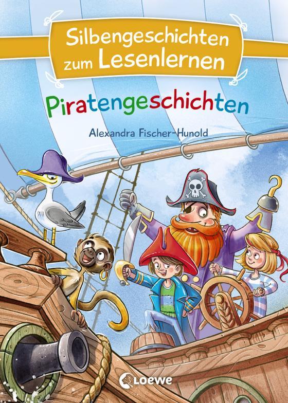 Cover-Bild Silbengeschichten zum Lesenlernen - Piratengeschichten