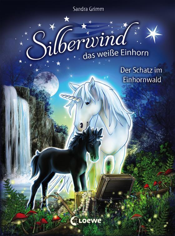Cover-Bild Silberwind, das weiße Einhorn - Der Schatz im Einhornwald