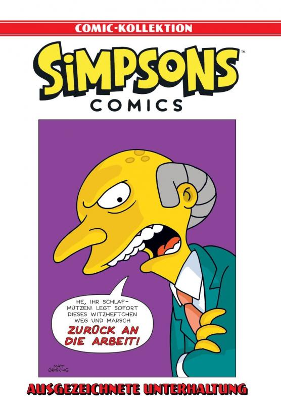 Cover-Bild Simpsons Comic-Kollektion