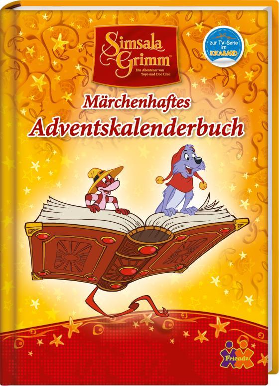 Cover-Bild Simsala Grimm. Märchenhaftes Adventskalenderbuch