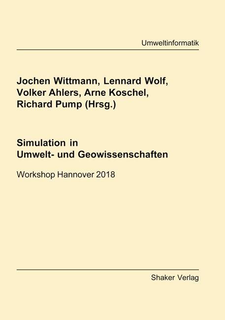 Cover-Bild Simulation in Umwelt- und Geowissenschaften