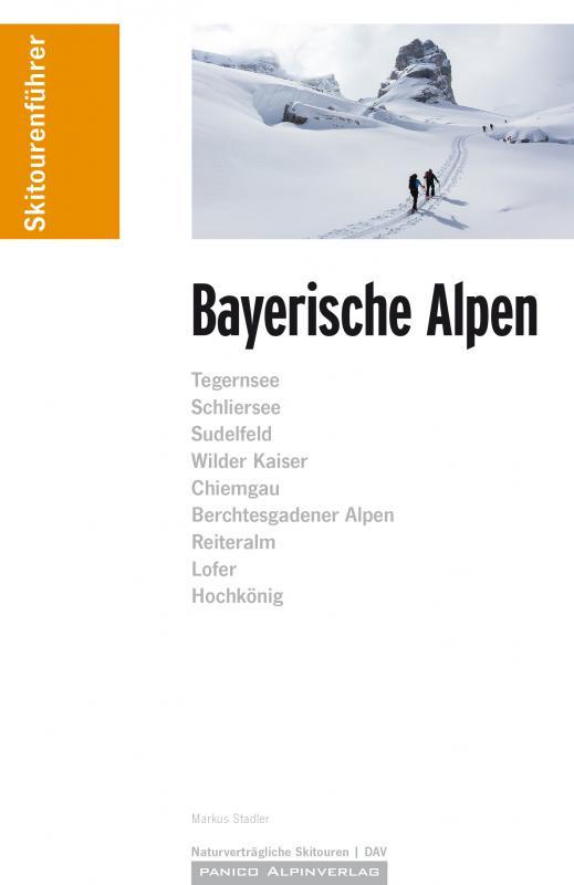 Cover-Bild Skitourenführer Bayerische Alpen