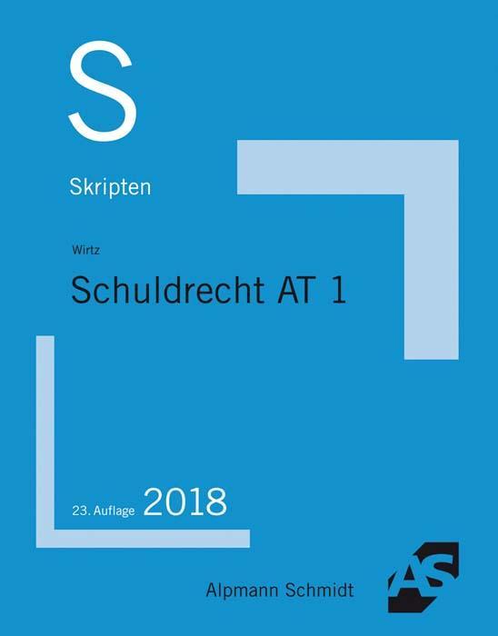 Cover-Bild Skript Schuldrecht AT 1