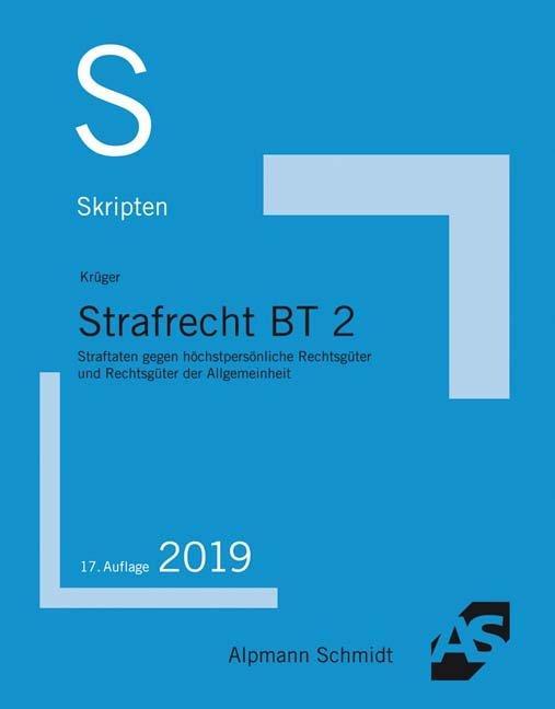 Cover-Bild Skript Strafrecht BT 2