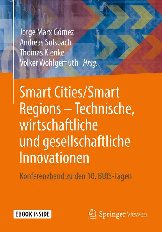Cover-Bild Smart Cities/Smart Regions – Technische, wirtschaftliche und gesellschaftliche Innovationen