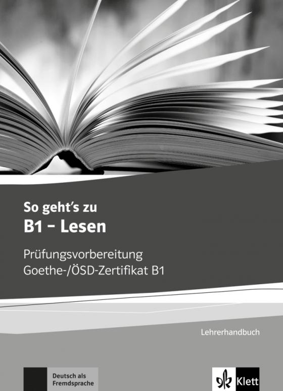 Cover-Bild So geht's zu B1 - Lesen