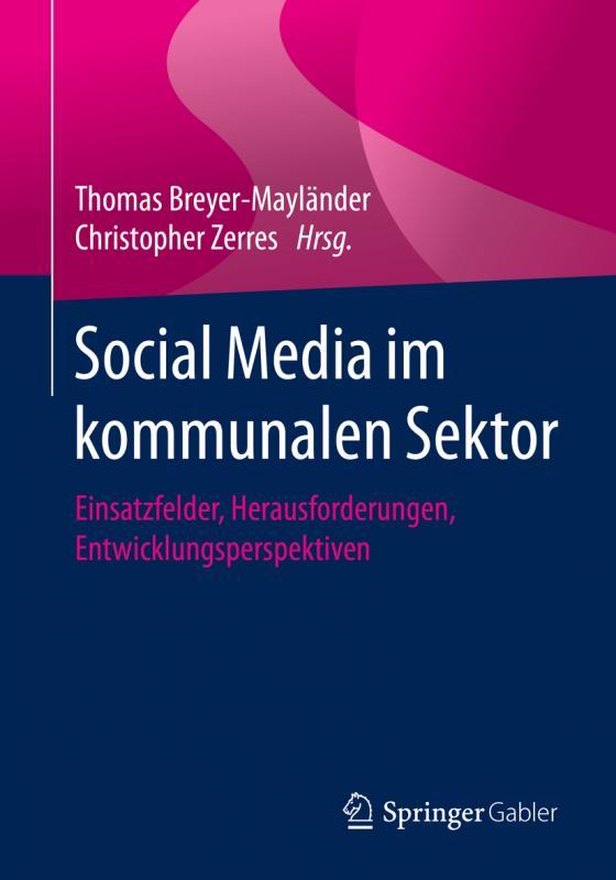 Cover-Bild Social Media im kommunalen Sektor